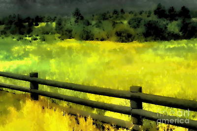 Digital Art - Ciquique Pueblo Meadow by Tim Richards