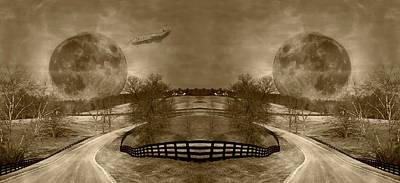 Light And Dark Photograph - Circle by Betsy Knapp
