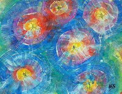 Painting - Circle Burst by Amelie Simmons