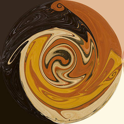Painting - Circle Of Browns by Alli Cullimore