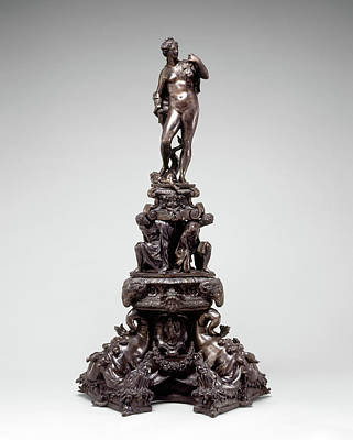 Andiron Drawing - Circle Of Girolamo Campagna, Andiron With Figure Of Venus by Quint Lox