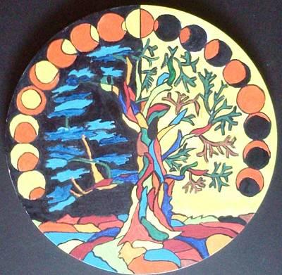 Mango Drawing - Circle Of Life by Swati Panchal