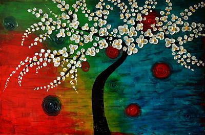 Painting - Circle Of Love by Preethi Mathialagan