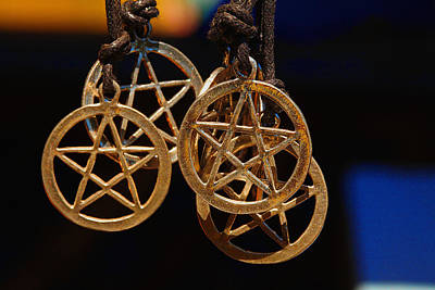 Pentagram Art Photograph - Circle Of Protection by Mike Flynn