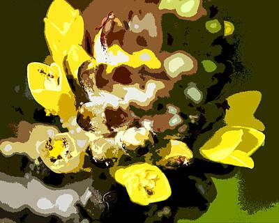 Circle Of Yellow Art Print