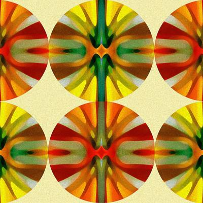 Digital Art - Circle Pattern 1 by Amy Vangsgard