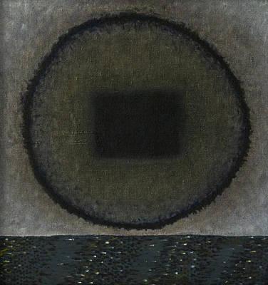 Kerrtu Painting - Circle-pillow by Oni Kerrtu