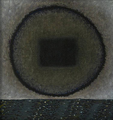 Painting - Circle-pillow by Oni Kerrtu