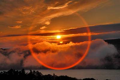 Finger Lakes Photograph - Circle Round The Sun by Steven Ainsworth