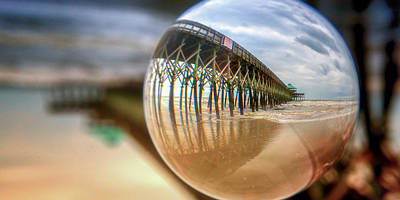 Photograph - Circle The Pier by Joye Ardyn Durham