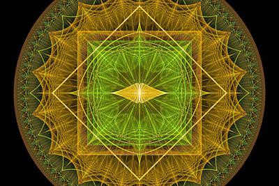 Digital Art - Circles And Squares by Sandy Keeton