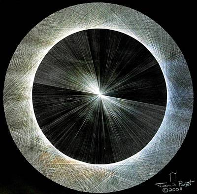 Circles Do Not Exist 720 The Shape Of Pi Art Print by Jason Padgett