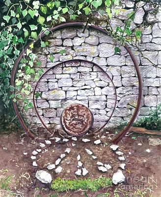 Painting - Circles Of Life by Barbara Jewell