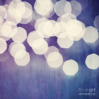 Circles Of Light Art Print by Priska Wettstein