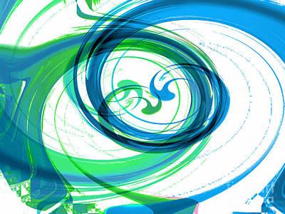Circling Grace 1 Art Print