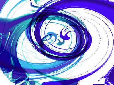 Circling Grace 2 Art Print