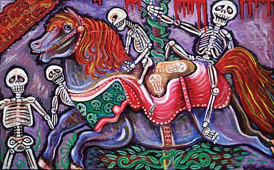 Circo De Los Muertos Art Print