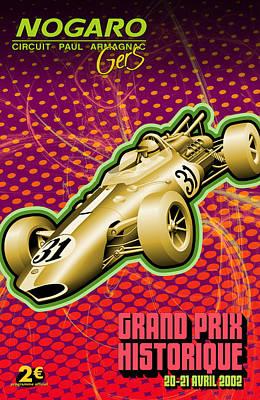 Travel Photograph - Circuit Paul Armagnac Nogaro Grand Prix by Georgia Fowler