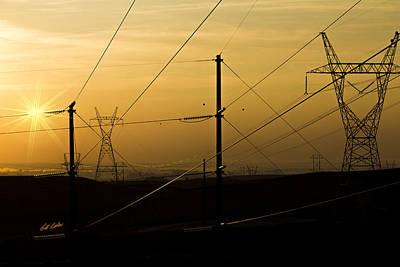 Photograph - Circuit Sunrise by Bill Kesler