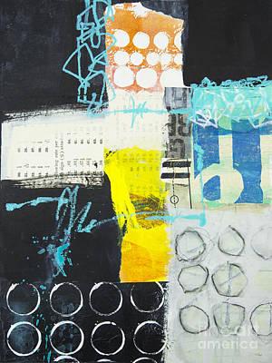 Abstraction Mixed Media - Circular by Elena Nosyreva