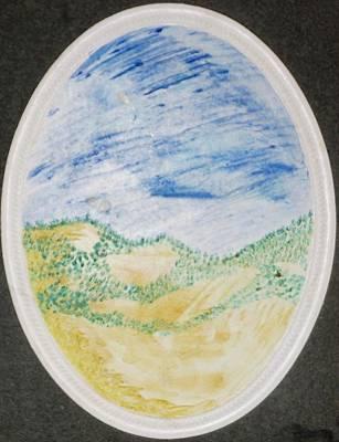 Painting - Circular by Erika Chamberlin