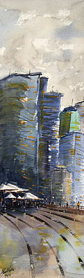 Reveal Painting - Circular Quay 1 by James Nyika