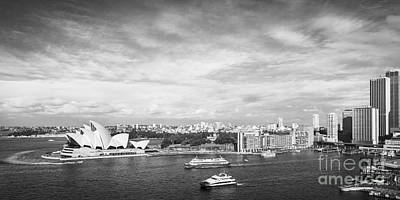 Photograph - Circular Quay And Sydney Opera House by Colin and Linda McKie