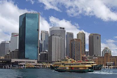 Haeuser Photograph - Circular Quay In Sydney by Oliver Wintzen