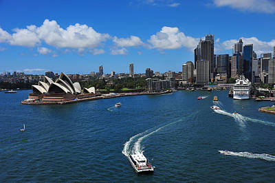 Photograph - Circular Quay Sydney by Harry Spitz