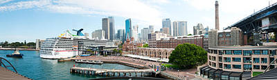 Terminal Photograph - Circular Quay, Sydney, New South Wales by Panoramic Images
