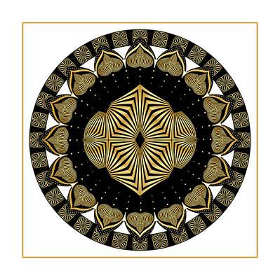Digital Art - Circularity No. 1502 by Alan Bennington