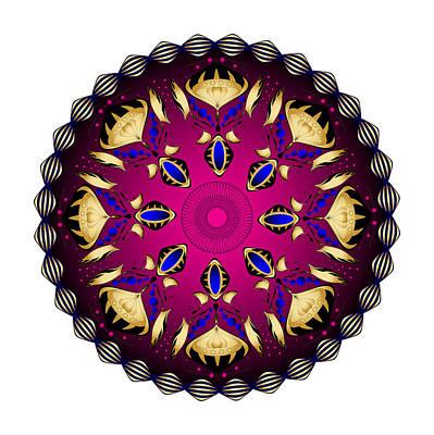 Digital Art - Circularity No. 1503 by Alan Bennington