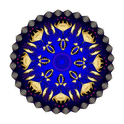 Digital Art - Circularity No. 1504 by Alan Bennington