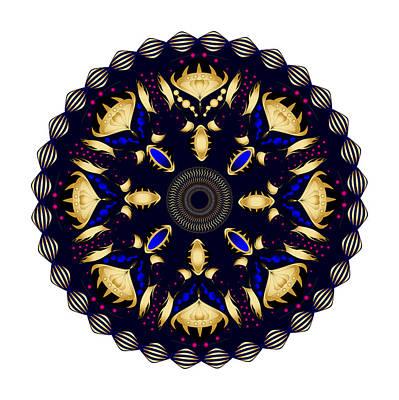 Digital Art - Circularity No. 1505 by Alan Bennington
