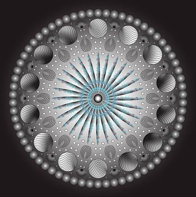 Circularity No. 152 Art Print