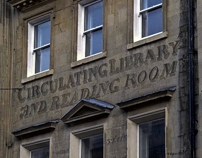 Photograph - Circulating Library And Reading Room by Allen Sheffield