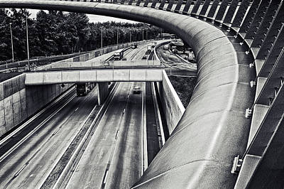 Traffic Photograph - Circulation by Piet Flour