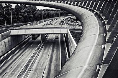 Trucks Photograph - Circulation by Piet Flour