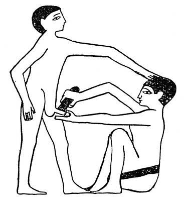 Penis Drawing - Circumcision, C2200 B by Granger