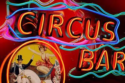 Circus Bar Art Print