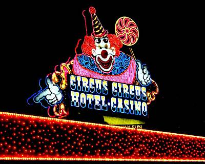 Photograph - Circus Circus by Benjamin Yeager