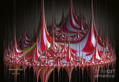 Circus-circus Art Print