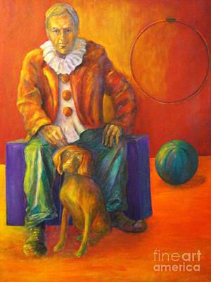 Circus Art Print by Dagmar Helbig