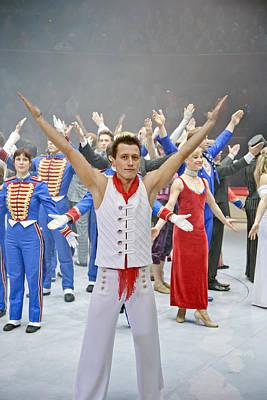 Circus Photograph - Circus Finale In Paris by Matthew Bamberg