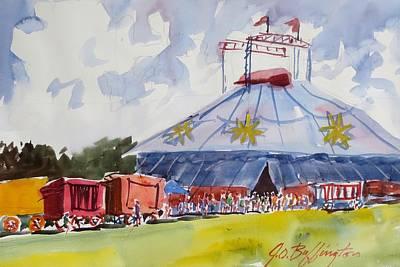 Circus Hall Of Fame Art Print