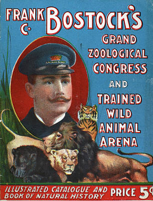 Painting - Circus Program, C1901 by Granger