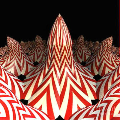 Digital Art - Circus Tents by Steed Edwards