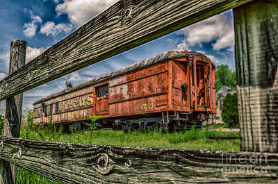 Photograph - Circus Train by Patricia Trudell