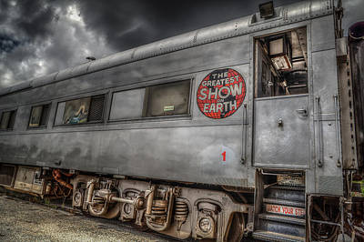 Circus Train Art Print