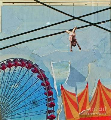 Mixed Media - Circus1 by Patricia  Tierney